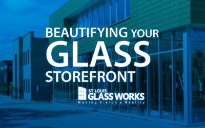 Beautifying Your Glass Storefront