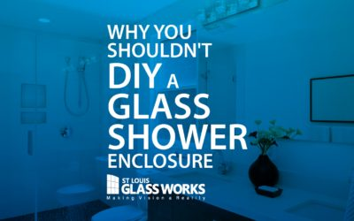 Don't DIY Your Glass Shower Enclosure