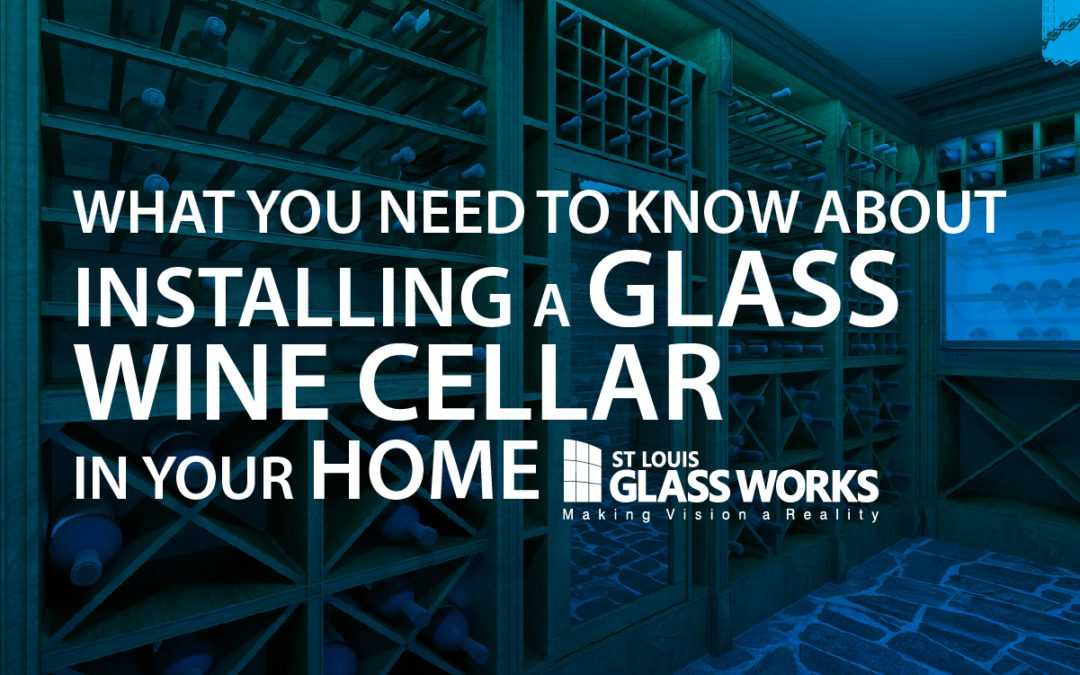 St Louis Glassworks Glass Wine Cellar