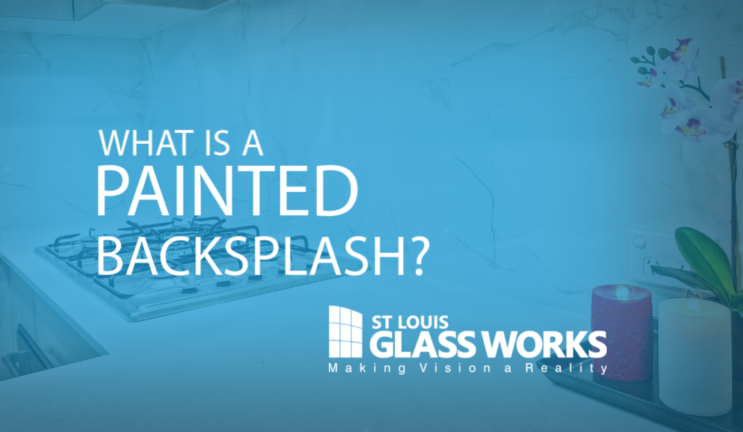 What is a Painted Backsplash?