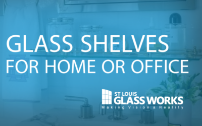 Glass Shelves for Home or Office