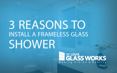 Three Reasons to Install a Frameless Glass Shower